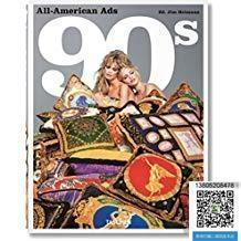 【包邮】2018年出版,All-American Ads of the 90s;作者  Steven Heller