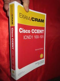 CCENT ICND1 100-101 Exam Cram     【详见图】  附光盘