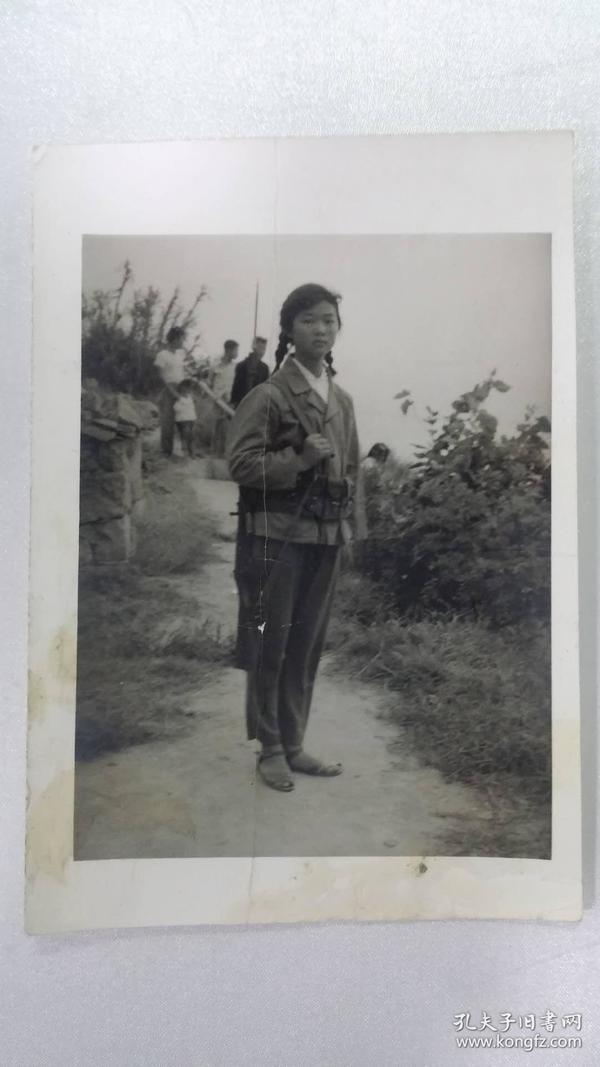 老照片——女民兵