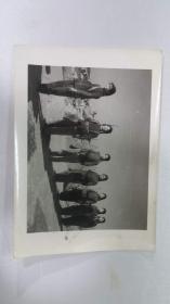 老照片——女民兵队列训练