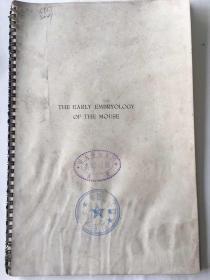 民国青岛国立山东大学动物学系藏书:英文论文