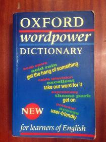 英国原装辞典 Oxford Wordpower Dictionary  牛津中阶英语学习词典