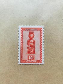 外国邮票 布隆迪邮票文物 1枚(乙2-1)