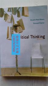 原版英文书复印本《批判性思维》布鲁克.摩尔.理查德.帕克