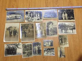 民国日本照片14张合售