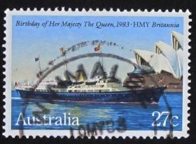 澳大利亚邮票----女王陛下的诞辰日(信销票)