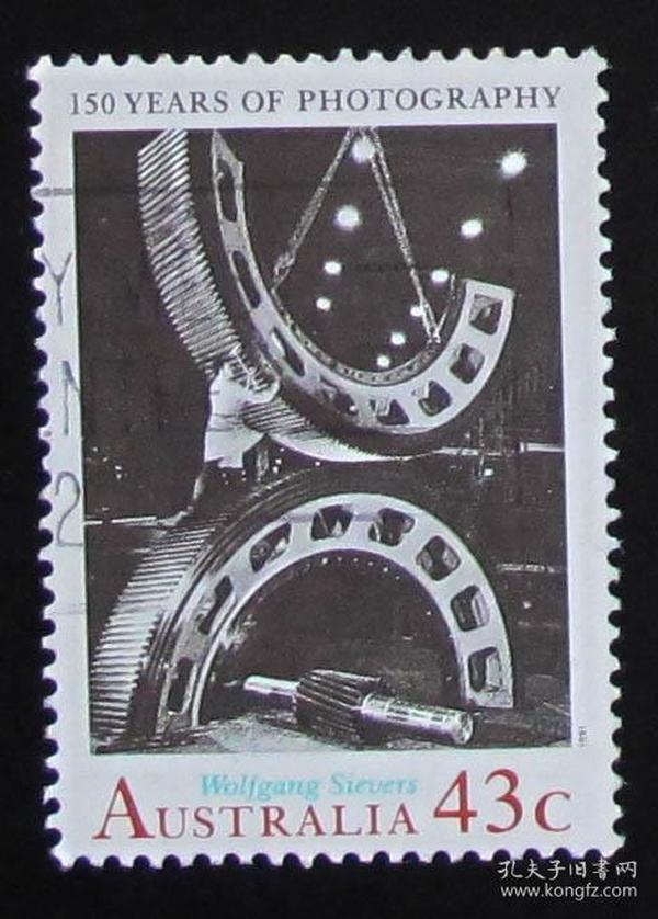 澳大利亚邮票----摄影150年(信销票)