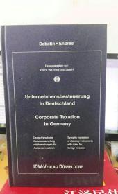 unternehmensbesteuerung in deutschland corporate taxation in germany 外文书
