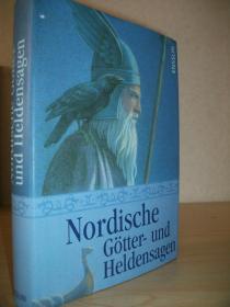 【精装德语原版】《北欧神话集》Nordische Götter und Heldensagen 插图版