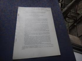 英文签名的抽印本1份,请看书影