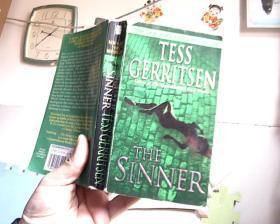 THE SINNER  TESS GERRITSEN