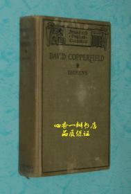 DAVID COPPERFIELD (1910年英文原版《大卫.科波菲尔》)