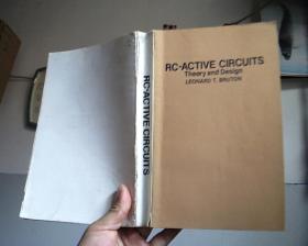 RC-ACTOVE CORCUITS ...RC有源电路《理论和设计》