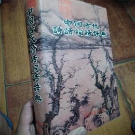 中国古代诗话词话辞典
