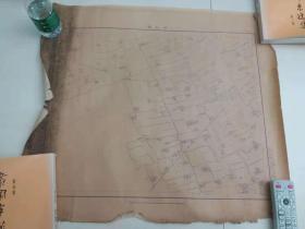 稀见民国36年上海市郊地图《莘庄镇》