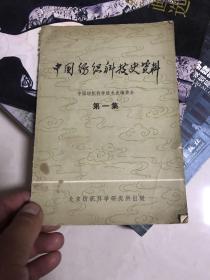 中国纺织科技史资料(第一集)创刊号