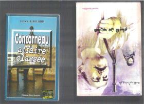 法语小说 Concarneau affaire classée / Firmin LE BOURHIS