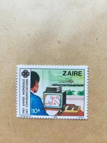 外国邮票 扎伊尔邮票1983年 1枚(乙2-2)