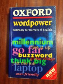 英国进口原装辞典 牛津中阶英语词典 Oxford Wordpower Dictionary for Learners of English