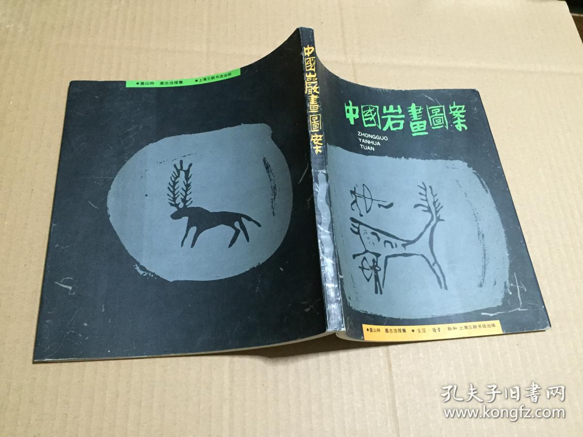中国岩画图案 97年一版一印 原版书