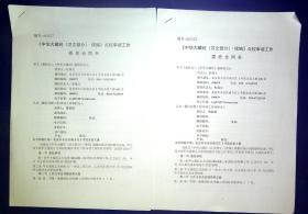 21011481 佛教史专家杜继文 南京大学中国思想家研究中心傅新毅合同书2份