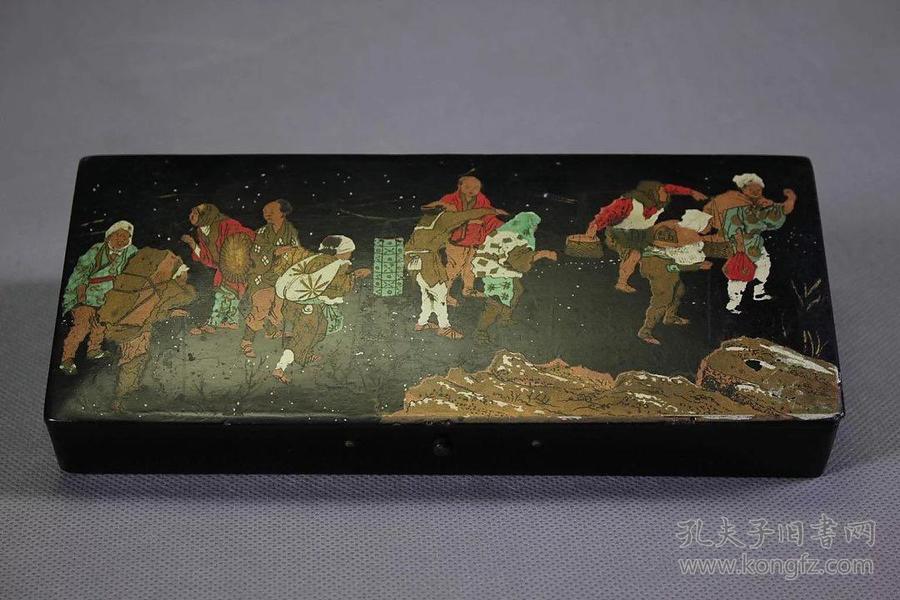 日本大漆文具盒