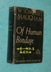of Human Bondage(1936年英文原版书《人性的枷锁》)