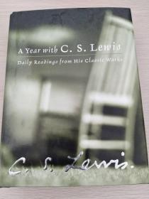 A Year with C. S. Lewis  《从岁首到年终:路易斯经典选粹》 【英文原版,精装本,全新佳品】