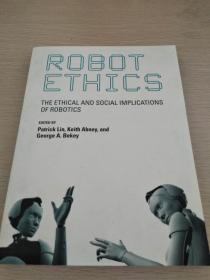 Robot Ethics: The Ethical and Social Implications of Robotics 【英文原版,全新佳品】
