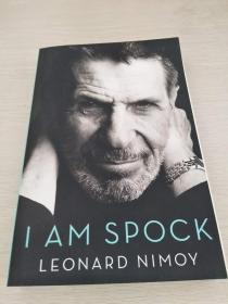 """Leonard Nimoy:I am  Spock  """"斯波克""""自传   【 英文原版  全新佳品】"""