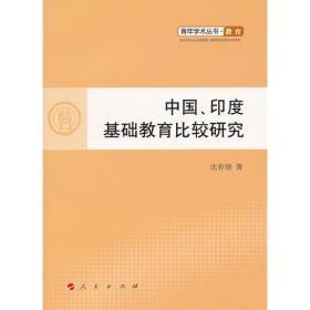 中国、印度基础教育比较研究—青年学术丛书  教育