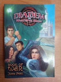 英文原版书:Book of War (Diadem Worlds of Magic #7)