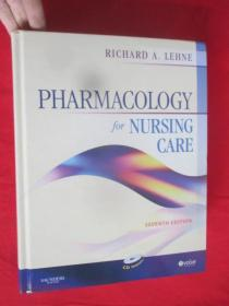 Pharmacology for Nursing Care, 7th Edition      (硬精装)      【详见图】,附光盘
