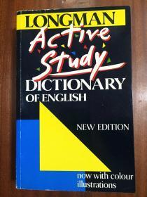 英国进口原装辞典 Longman Active Study Dictionary/朗文英语活用词典 原版