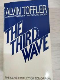 The Third Wave by Alvin Toffler 第三次浪潮 英文原版 品相佳