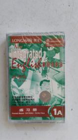 磁带  longman  朗文  新综合英语  1A  改编版  学生用书  .1A  改编版  练习册 (全新未开封) 共二本 合售