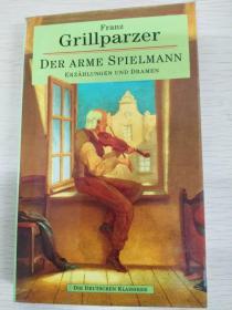 Der arme Spielmann  【德文原版,品相佳】