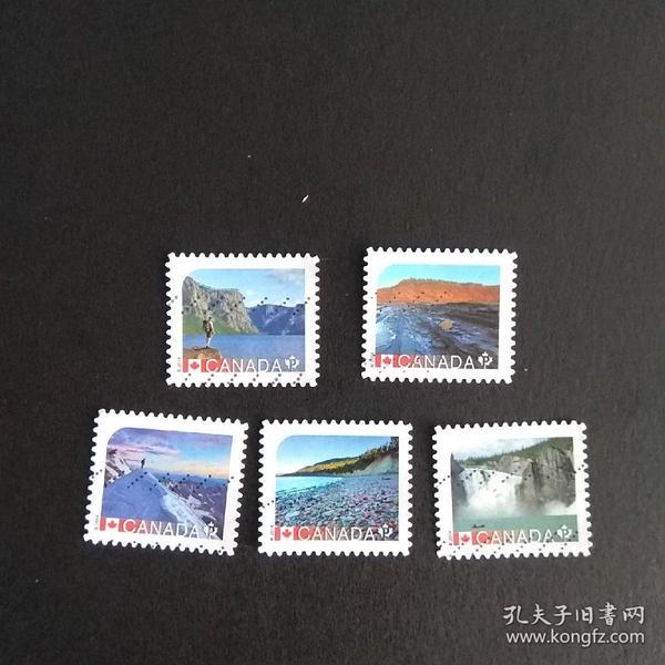 加拿大户外邮票