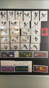 精品编号票、精品jt票、猴子票、文革票、建国邮票等。代国外友人出日本回流精品邮票一帖  前五张图为所有票 后面为附图