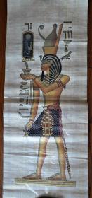 埃及莎草纸画仿古人物