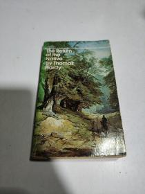 the return of the native by Thomas hardy(英文)