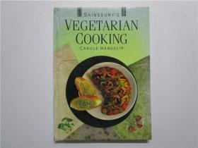 SAINSBURYS VEGETRIAN COOKING (塞恩斯伯里的素食烹饪)16开硬精装