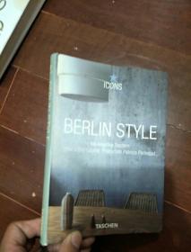 英文设计类---BERLIN STYLE ED,Angelika Taschen Photos Enic Laignel Production Patricia Parinejad