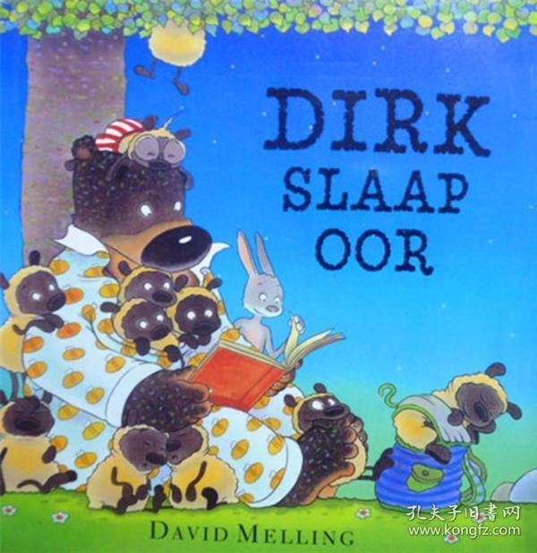 布尔语原版   少儿绘本   Dirx Slaap OOR       Dirx睡着了