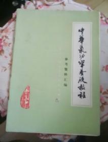 中华气功学基础教程(参考资料汇编)
