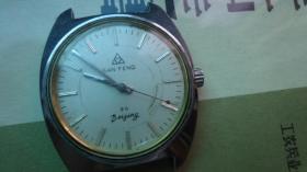 北京山峰手表,品如图,走时