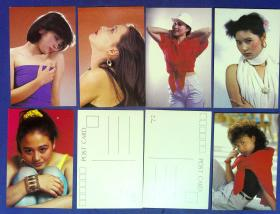 360010210明信片一套9张影视小姐