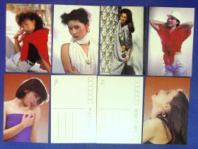 360010211明信片一套10张影视小姐