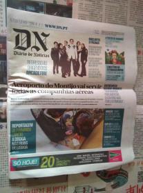 DIARIO DE NOTICIAS 葡萄牙新闻日报 2017/01/28 外文原版报纸学习资料