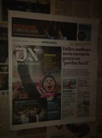 DIARIO DE NOTICIAS 葡萄牙新闻日报 2017/01/27 外文原版报纸学习资料
